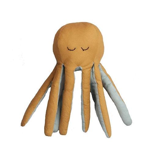 doudou pieuvre coton bio FABELAB