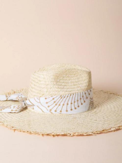 chapeau balthazar doré MARADJI