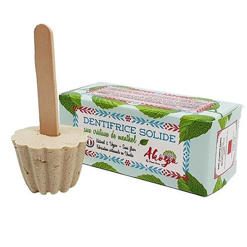 dentifrice solide menthe AKOYA