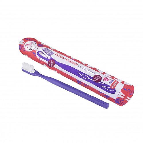 Brosse à dents LAMAZUNA rechargeable / violette