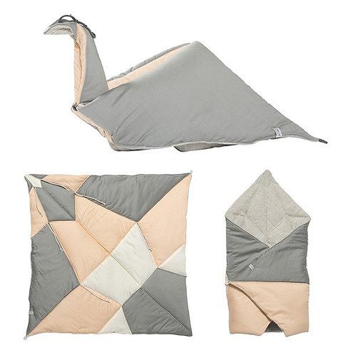 couverture origami/nid d'ange coton bio FABELAB