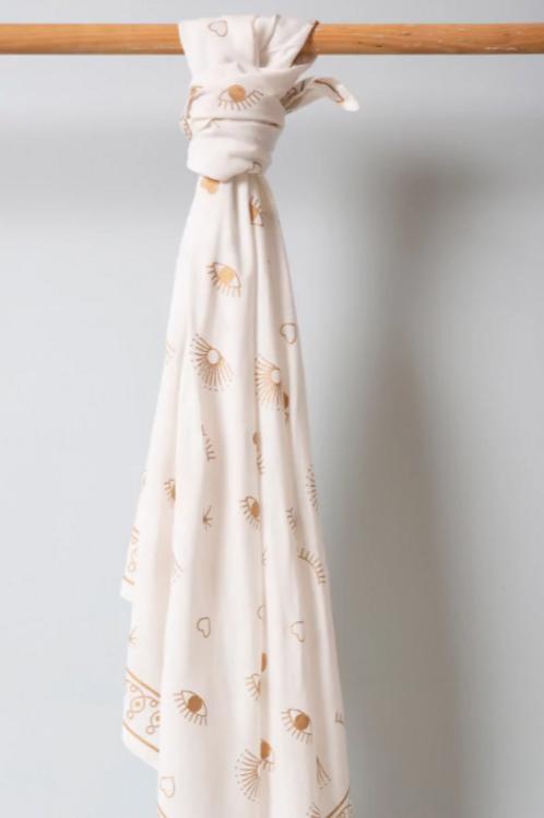 foulard gloria bianco MARADJI