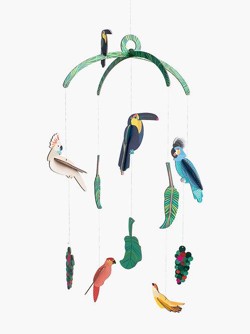 mobile exotic birds STUDIO ROOF