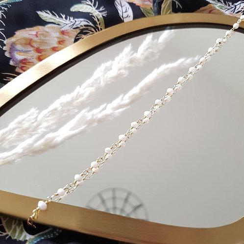 bracelet johanna pierres de culture GINANDGER