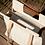 Thumbnail: cabas wood doré carreaux MARADJI