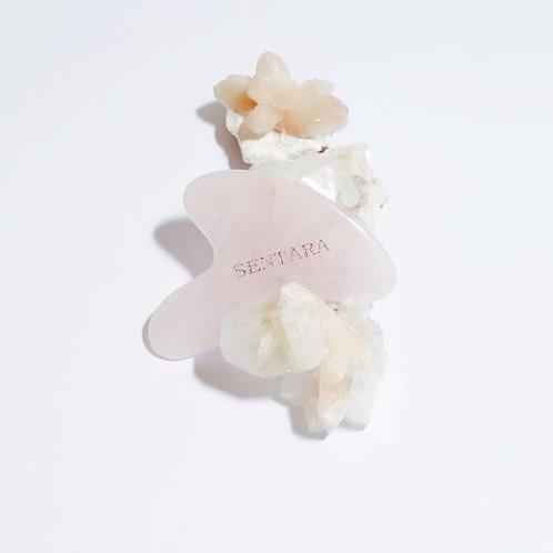 qua sha coeur quartz rose SENTARA HOLISTIC