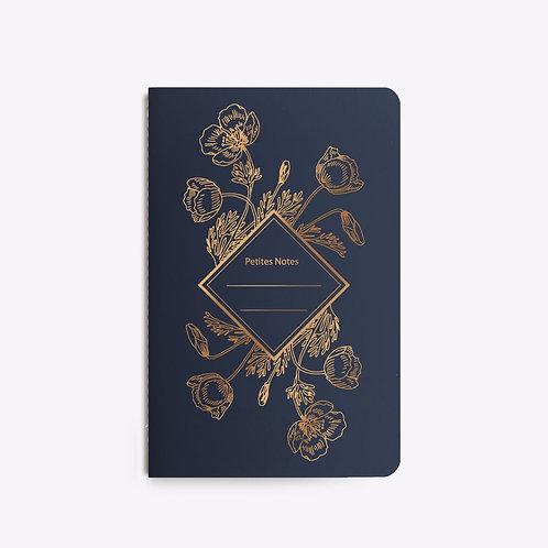 carnet cousu poppy LES EDITIONS DU PAON