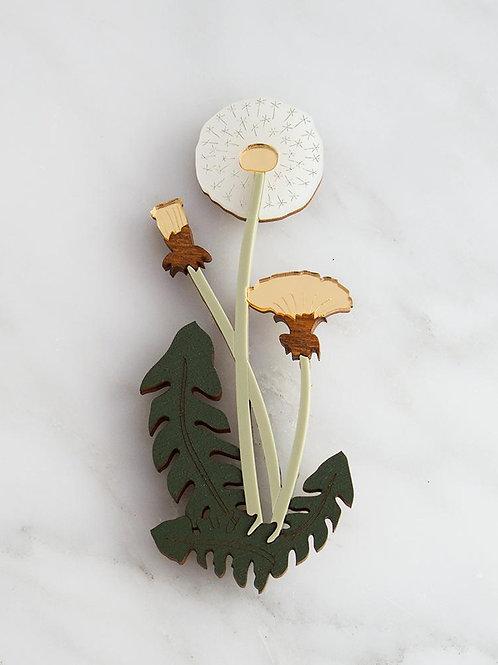 broche dandelion WOLF & MOON