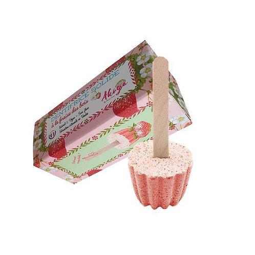 dentifrice solide fraise AKOYA