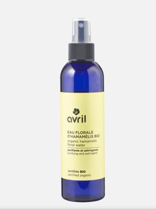eau florale d'hamamélis bio AVRIL
