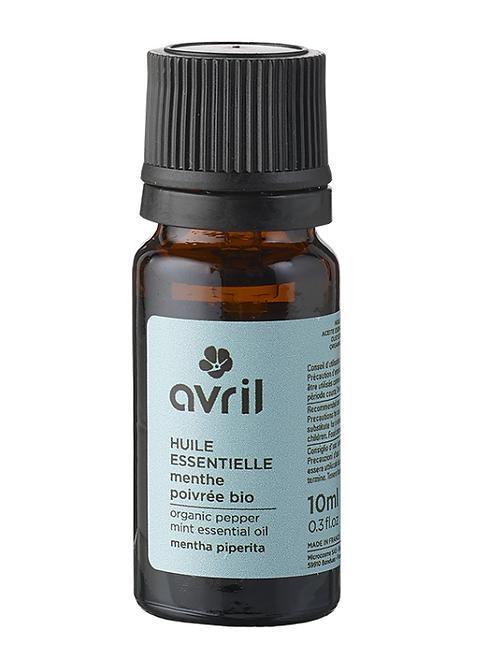 huile essentielle de menthe poivrée bio AVRIL