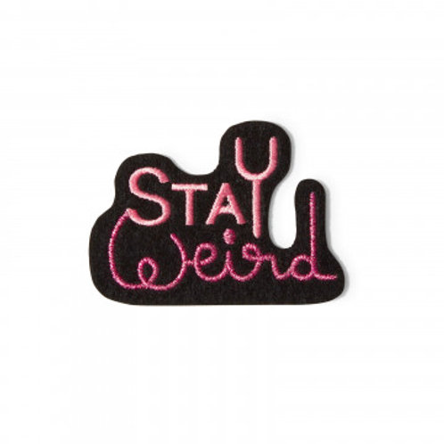écusson stay weird MACON & LESQUOY