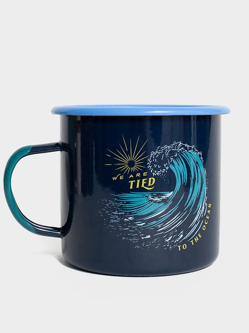 mug tied to the ocean UNITED BY BLUE