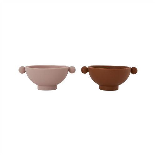 lot de 2 bols  Tiny Inka Bowl OYOY