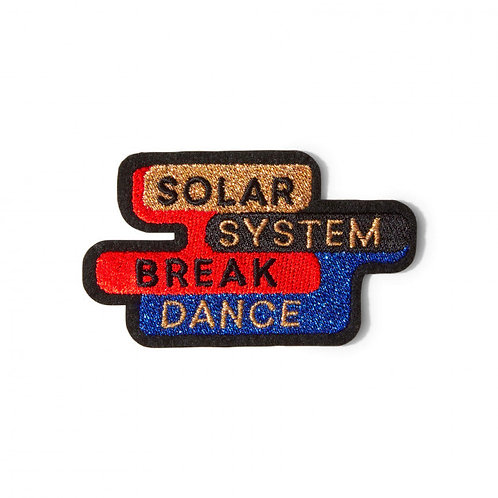 écusson Solar système break dance MACON & LESQUOY