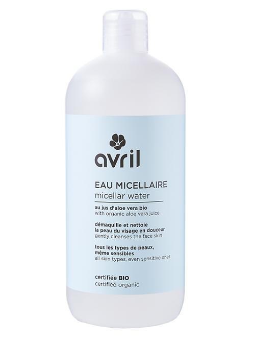 eau micellaire bio AVRIL