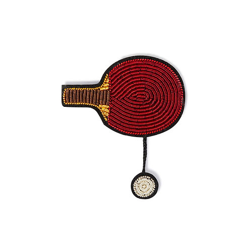broche ping pong MACON & LESQUOY