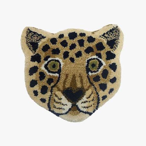 tapis rond léopard DOING GOODS