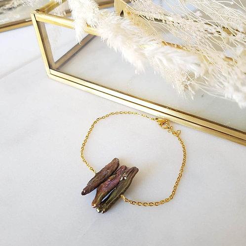 bracelet shira noir GINANDGER