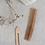 Thumbnail: peigne bois de pêcher MONK & ANNA