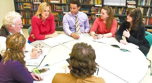 penny kittle with teachers