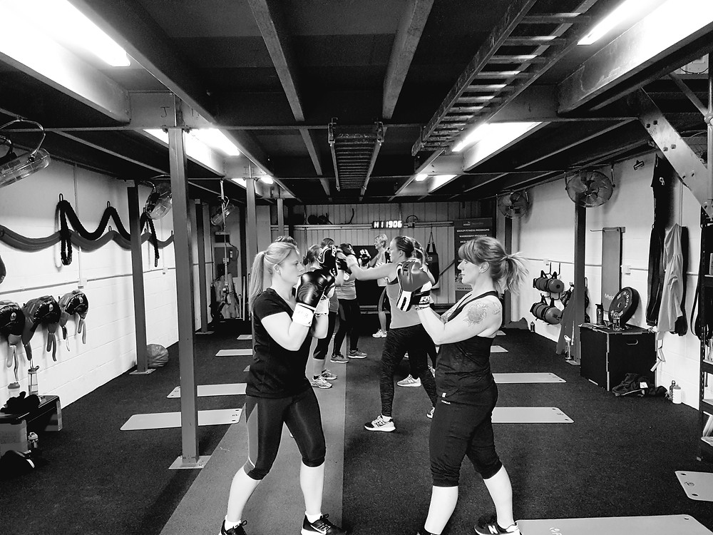 Boxercise classes at the JDW Fitness studio in Thirsk