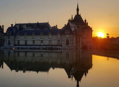 Pre-Race - Chantilly Sunrise