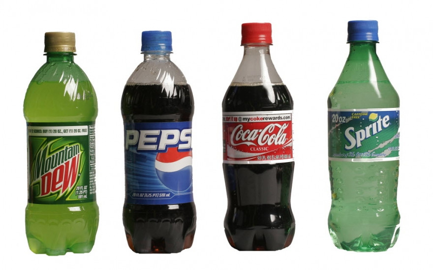 Image showing fizzy drinks as processed foods