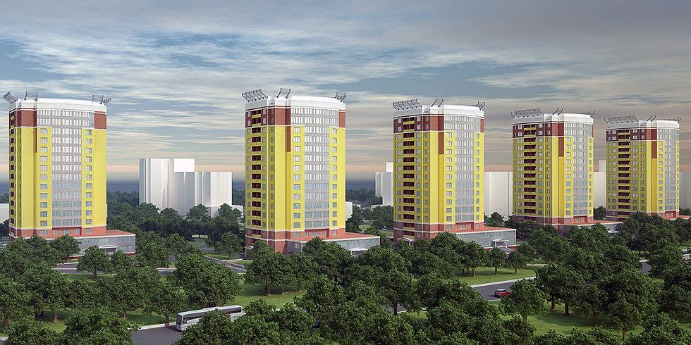 16-ти этажные дома