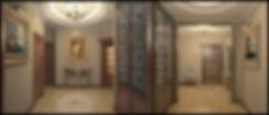Прихожая и холл в классическом стиле