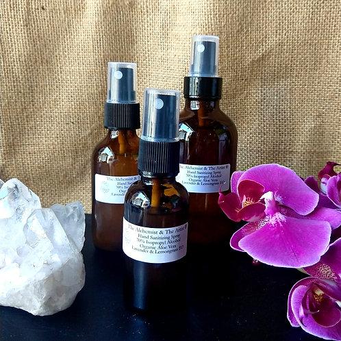 Lavender & Lemongrass Hand Sanitizing Spray