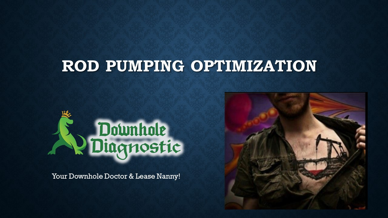 Rod Pumping Optimization