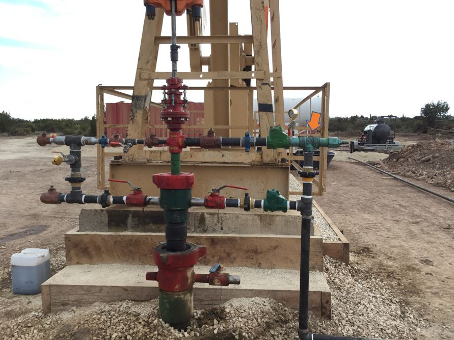 Rod Pumping Wellhead w/ Back Pressure Regulator