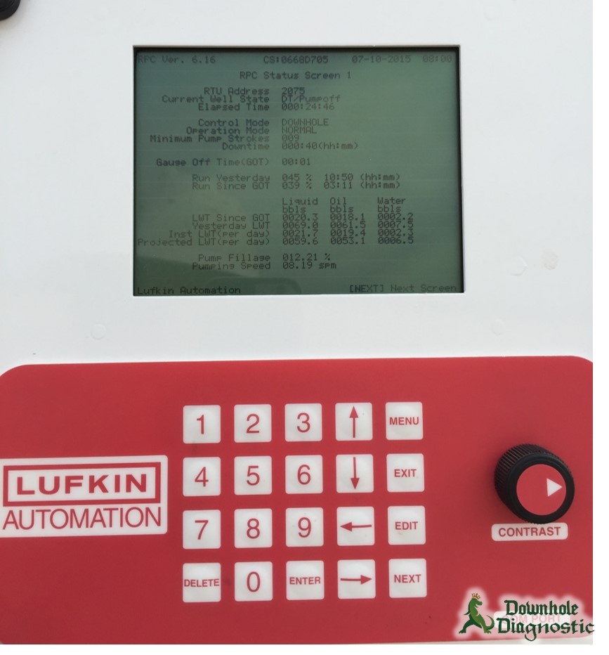 Lufkin (Sam) Pump Off Controller