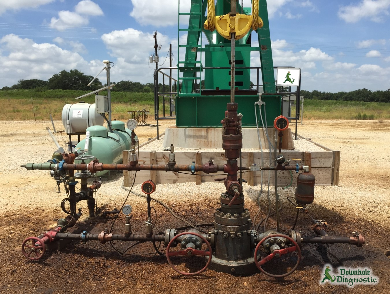 Wellhead w/ Pressurized Chemical