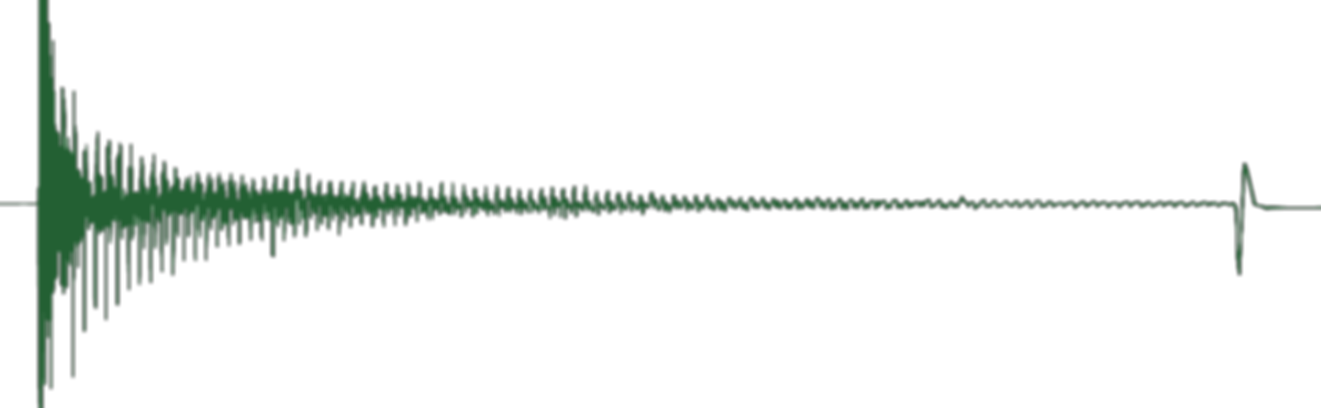 Fluid Level Trace from an Echometer Fluid Level Gun   Downhole Diagnostic