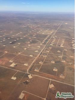 Flying into Midland