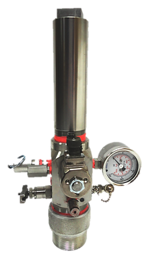 Oilfield Fluid Level Gun used to determine the depth to the liquid level on rod pumped wells.