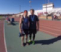 Shawn Dawsey after running the 2015 Midland Energy City Half-Marathon.