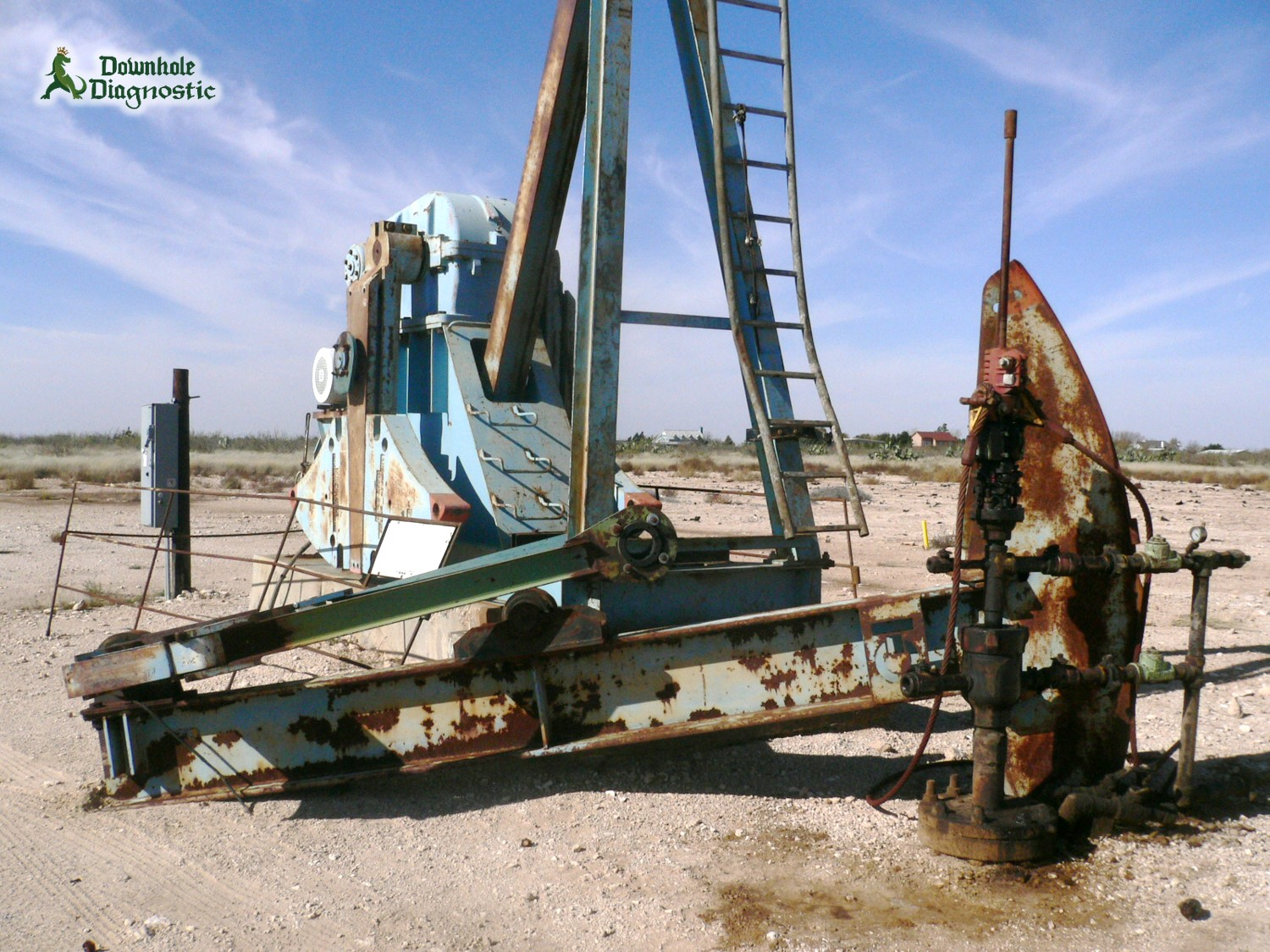 Cratered Pumping Unit 1