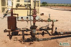 Wellhead w/ Chemical Pot