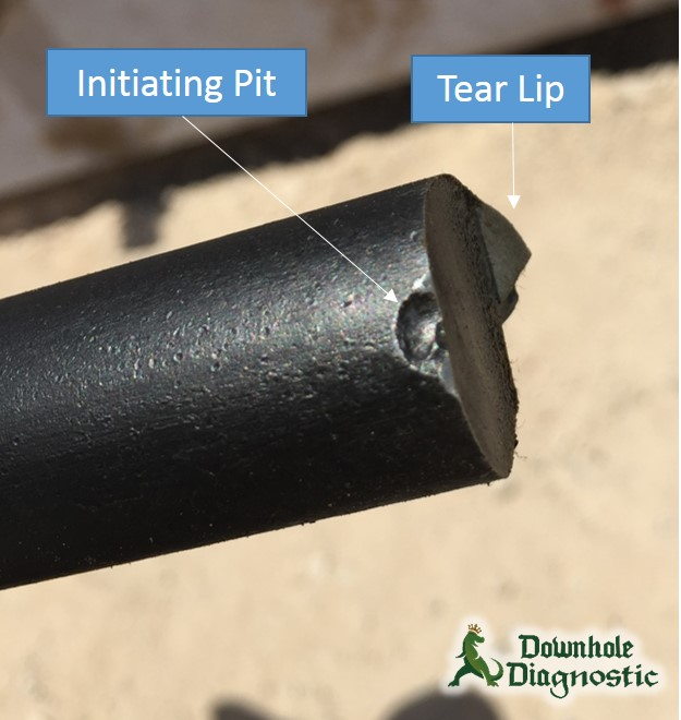 Rod Part - Focus in on Initiating Pit