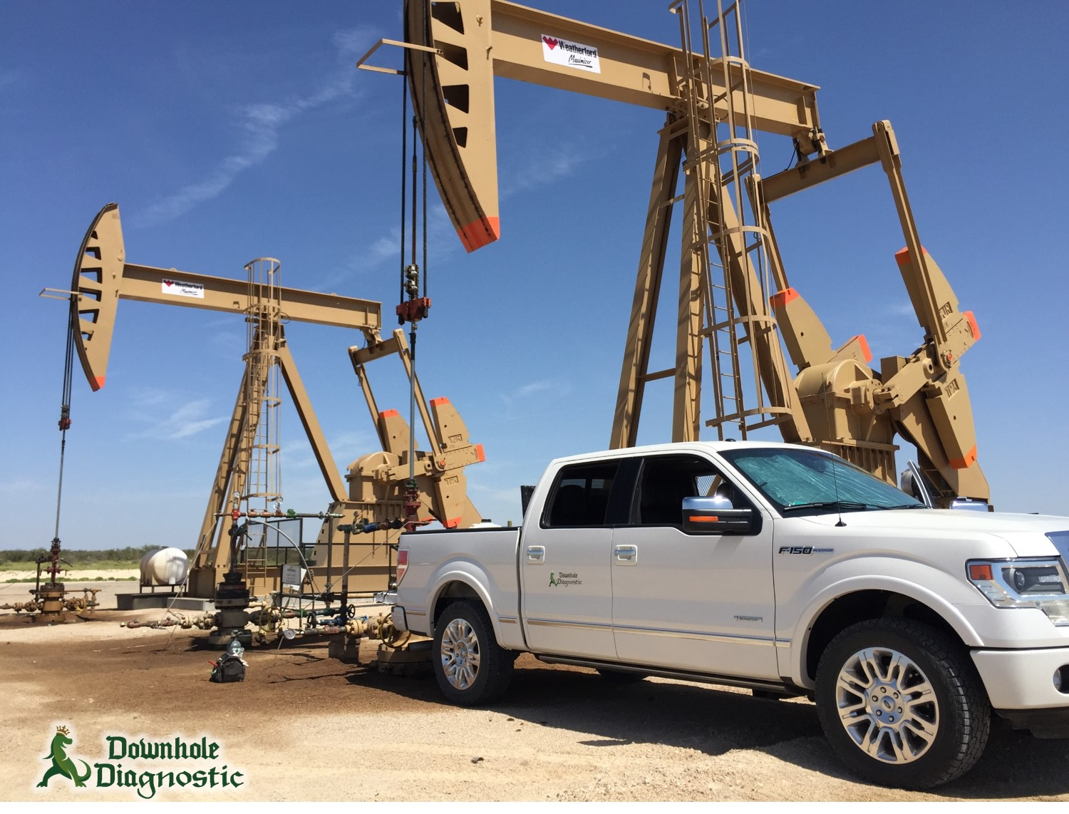 Pecos, TX, Pumping Units