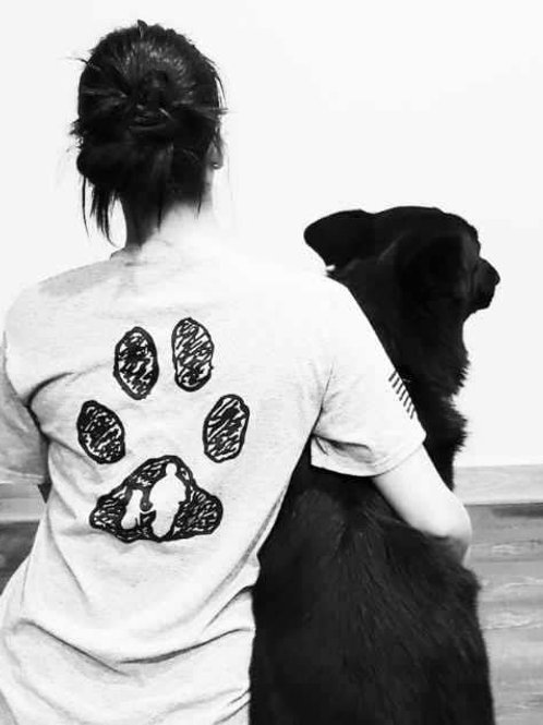 Black Paw Canine T-Shirt