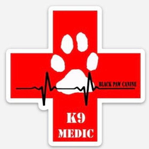 K9 Medic Sticker