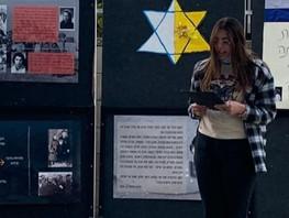 ציון יום הזכרון לשואה בבתי החינוך לנוער:  לימוד וטקס בהובלת החניכים