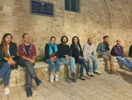 חברי הבוסתן البستان יצאו לסיור רמדאן בעכו העתיקה