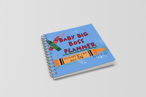 Baby Big Boss Planner