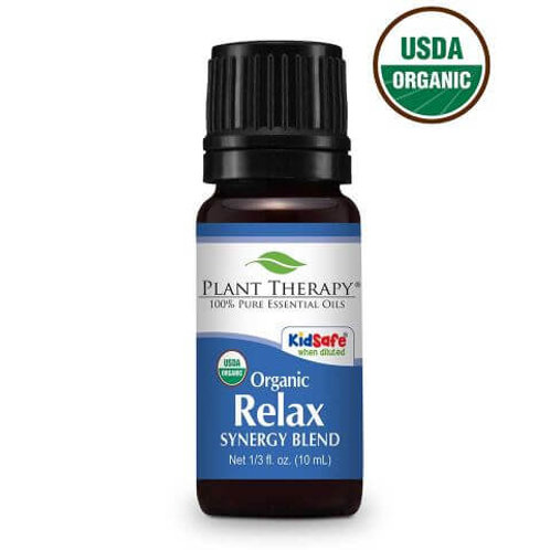 Relax Synergy Organic Essential Oil