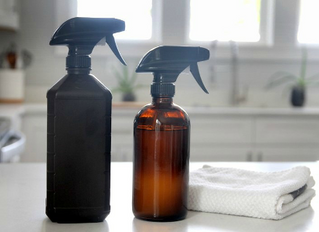 Vinegar + Hydrogen Peroxide All-Purpose Cleaner Recipe